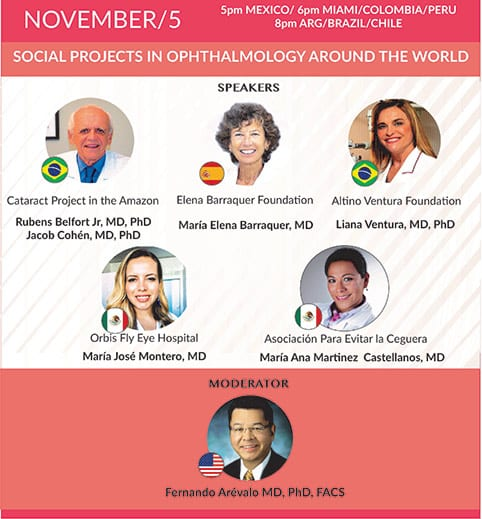 Webinar: Social Projects in Ophthalmology Around the World