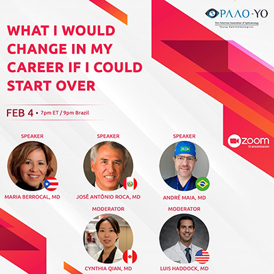 Webinar: What I Would Change in My Career if I Could Start Over