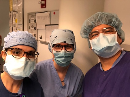 From left to right: Dr. Johnson, Dr. Liberman, Dr. Gonzales, Dr. Ahmed.